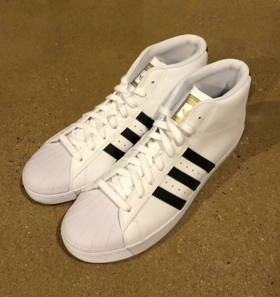 Adidas Pro Model Vulc ADV Superstar Size 12 US Skateboarding Shoes