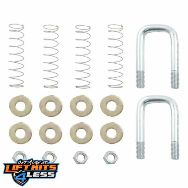CURT 66113 Gooseneck Safety Chain U-Bolt Kit ALL Non-Spec Vehicle ALL Base