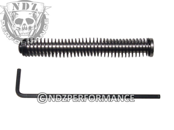 NDZ Stainless Steel Recoil Guide Rod Assembly for Glock GEN 1 3 Choose Spring