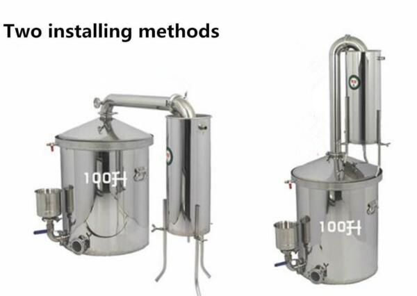 100L Wine Maker Steamed Wine Equipment Large Wine Brewing Equipment S
