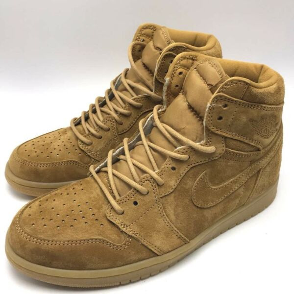 Nike Air Jordan 1 Retro HI OG Men's Shoes Golen Harvest/Golen Harvest 555088-710