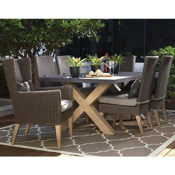 Naples Outdoor Dining Table from Home Decorators