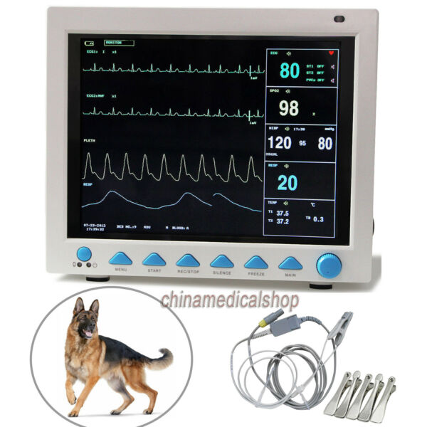 Veterinary Portable Patient Monitor Multi-parameters Vital signs Monitor Animal