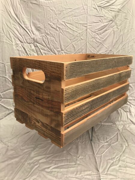 Wooden Farm stand Produce Crates
