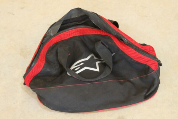Alpinestars Glove Bag Small Carrier Bag Zippered Motocross Dirtbike MX ATV $21.95