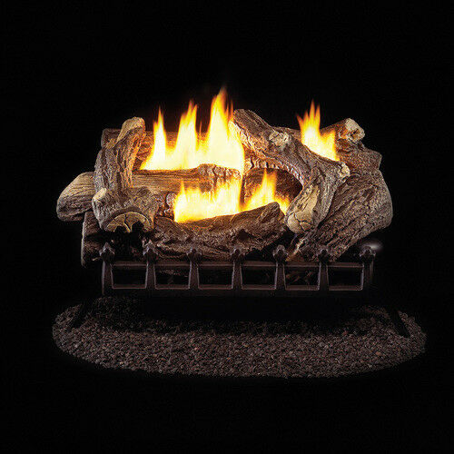 ProCom Vent Free Propane Gas Log Set - 24in. 34000 BTU Manual Control