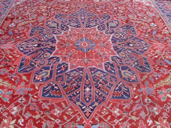 12' x 18' EXCELLENT ANTIQUE HAND-KNOTTED WOOL PREMIUM AUTHENTIC ORIENTAL RUG