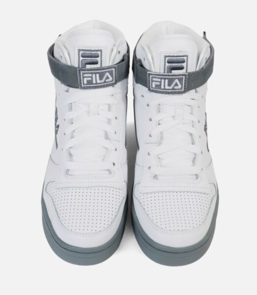 Fila FX-100 Mens Sneakers. Old School White And Grey. 1VB90179 101