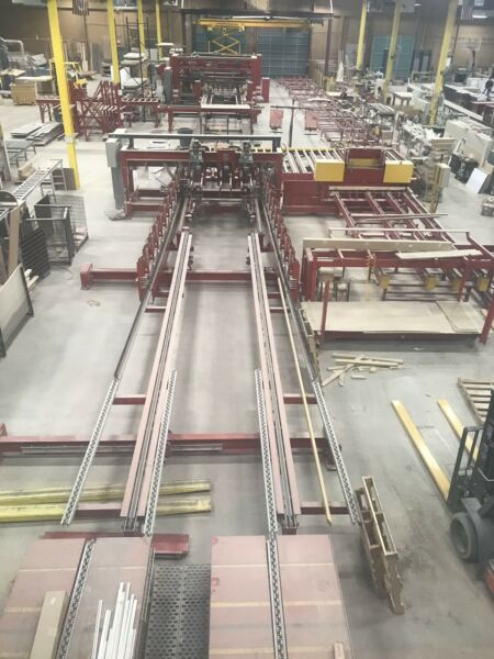 IBS AUTOMATED WALL PANEL LINE Wood Framing Line