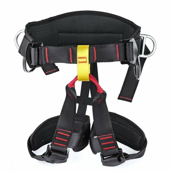 Roof Safety Harness Construction Protection Tool Tree Climbing Waist Strap 15KN