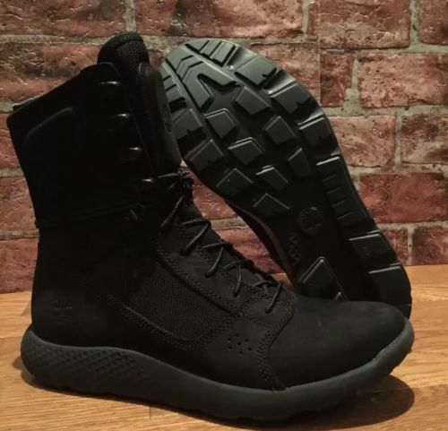 TIMBERLAND LIMITED RELEASE FLYROAM TACTICAL MEN LEATHER BOOT BLACK TB0A1NK5. 11 $119.99