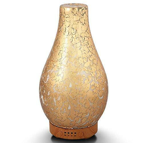 Essential Oil Diffuser Cool Mist Waterless Humidifier Night Light Aromatherapy
