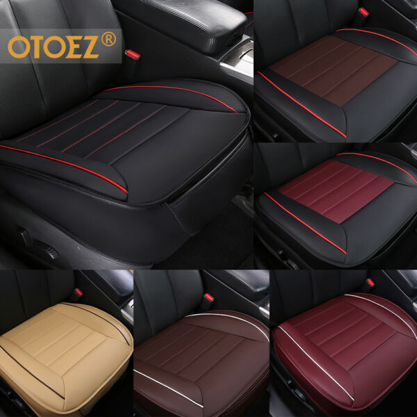 3D Deluxe Car Seat Cover PU Leather Full Surround Pad Mat for Auto Chair Cushion