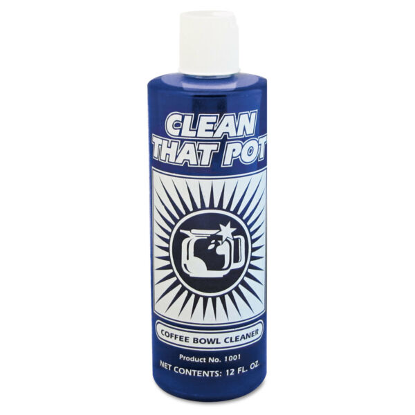 Clean That Pot Coffee Bowl Cleaner 12oz Bottle 1001