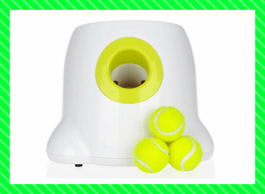 Dog pet toy Tennis Launcher Automatic throwing machine pet Ball device w3 Balls