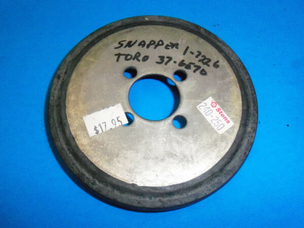 NEW STENS CLUTCH WHEEL  DISC FITS MANY MOWERS & SNOW BLOWERS 240-250
