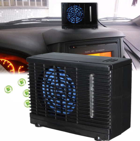 12V Car Vehicle Air Conditioning Cooling Fan 2-Speed Adjustable Portable Home
