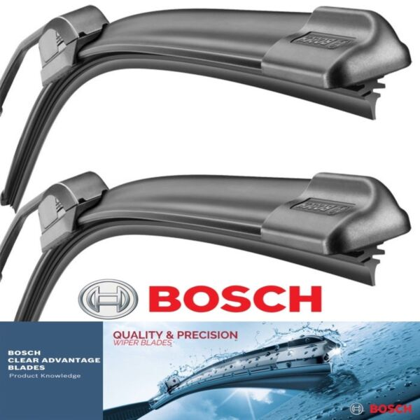 2 Pack Bosch Clear Advantage Wiper Blades Fits 2007-2017 Toyota Tundra Left Righ