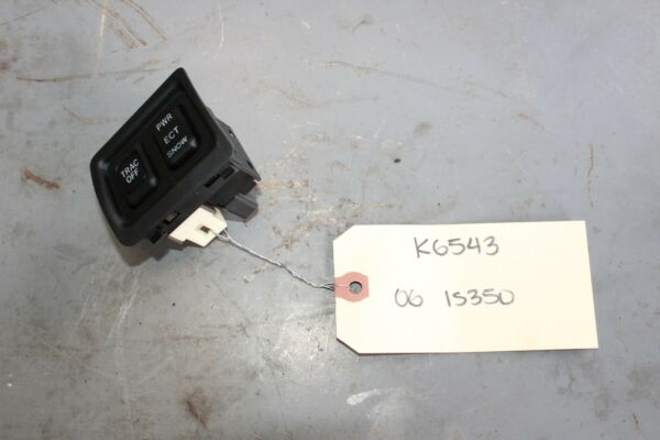 2006-2013 LEXUS IS350 TRACTION CONTROL SNOW POWER SWITCH K6543
