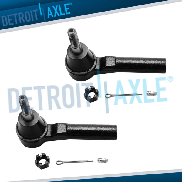 Dodge Caliber Compass Patriot Avenger Journey - Both (2) Outer Tie Rod End Links
