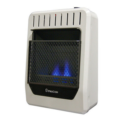 ProCom Ventless Blue Flame Gas Space Heater Dual Fuel 10000 BTUModel # MG10HBF