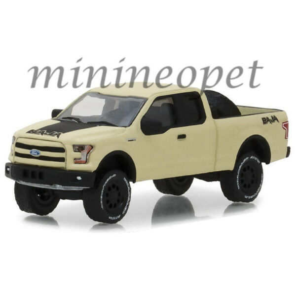 GREENLIGHT 35110 E ALL TERRAIN 2016 FORD F 150 with BAJA TIRE CARRIER 1 64 BEIGE $6.30