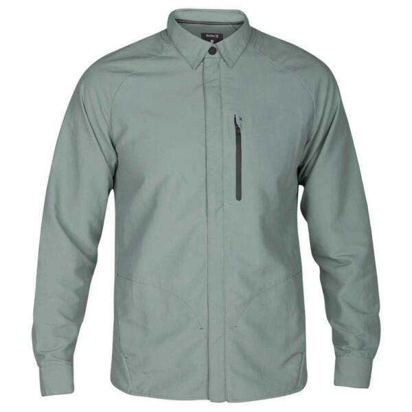 Hurley Men's Forge DWR (Durable Water-Repellent) Jacket - Clay Green