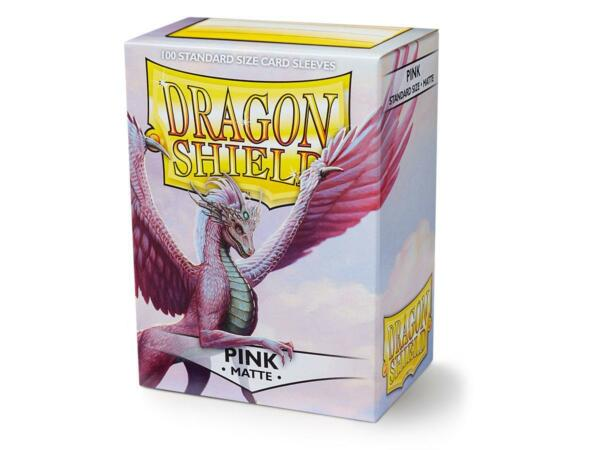 Matte Pink 100 ct Dragon Shield Sleeves Standard Size FREE SHIPPING 10% OFF 2 $9.10