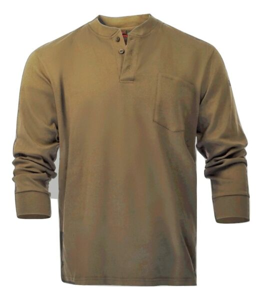 Flame Resistant FR Henley Style T shirt $35.99