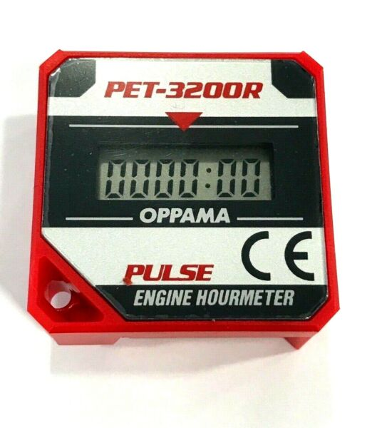 Pulse Kart Engine Hour Meter  Timer Motocycle Racing Rotax Iame - PET3200R - UK