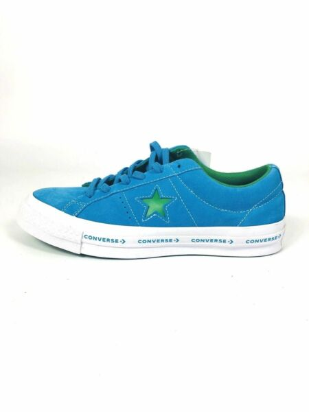 Converse One Star Woodmark FX Pinstripe Medium Blue Green Hawaiian Jolly 159813C