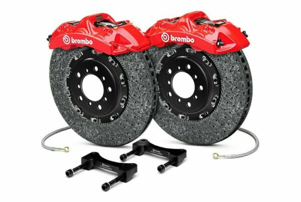 Brembo CCM-R GT BBK 6-piston Front for 2015+ BMW M3 F80 and M4 F82 1L9.9013A2