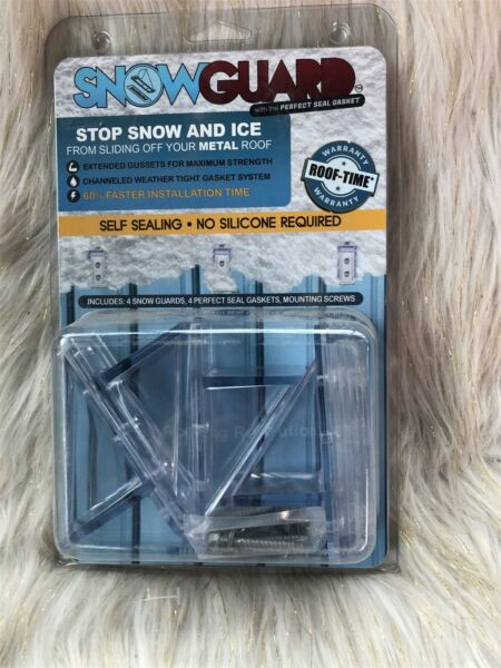 Snow Guards-4 Seal Gaskets 4 Snow Gaurds and Hardware! Metal Roof Snow Guards
