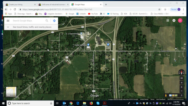 6 acres of industrial/commercial land