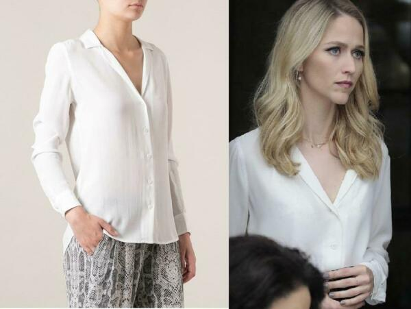 NEW $230 Equipment ADALYN SILK SHIRT BRIGHT WHITE XS S M