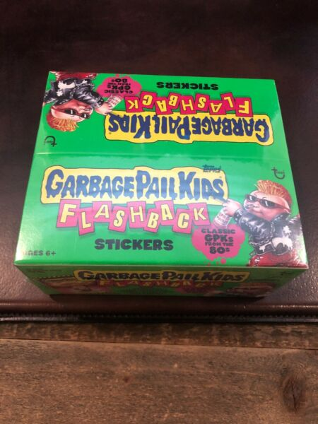 Garbage Pail Kids Flashback 1st Series 1 NEW BOX SHRINK WRAPPED FACTORY SEALED