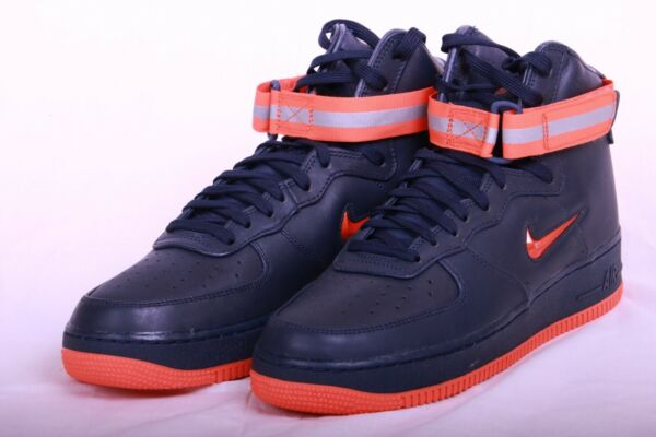 Nike Air Force 1 Mid Retro PRM QS NYC's Finest Pack AF1 NAVY AO1636 400 Sz 7-12
