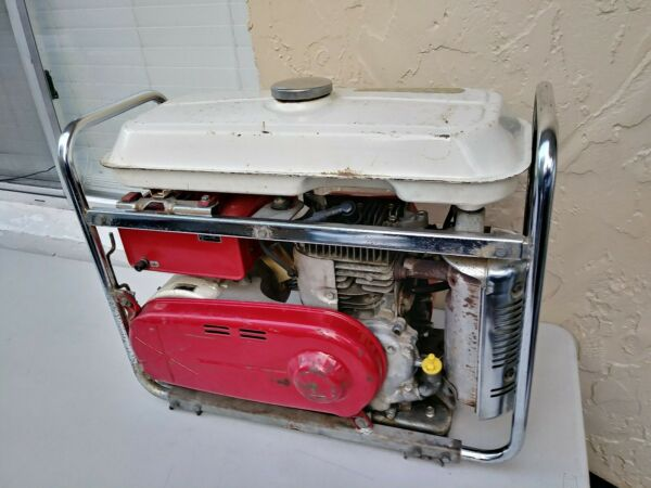 Vintage 1970#x27;s Honda generator E1500 great for classic RV Trailer
