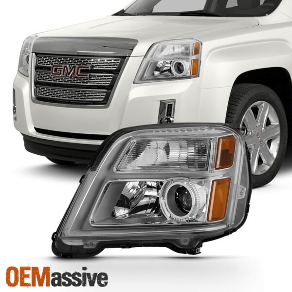 Fits 2010-2015 GMC Terrain Driver Left Side Halogen Only Headlight Replacement