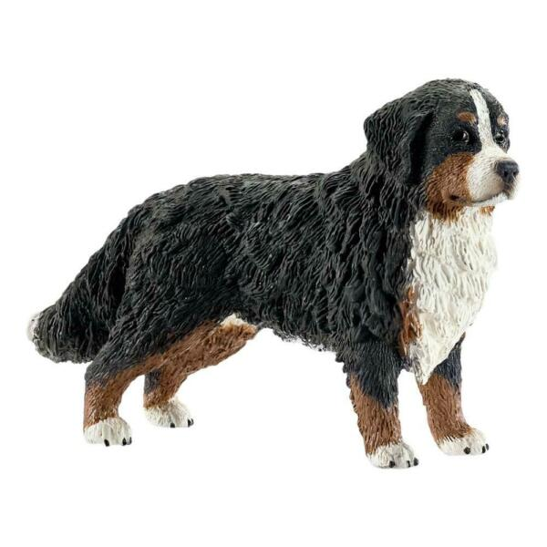 Schleich Farm Life Bernese Mountain Dog Female Dog Rescue Dog House Pet Figure