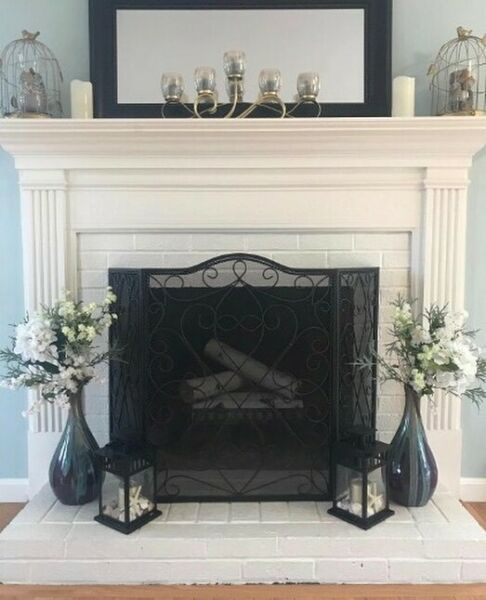 Six White Birch Logs for Fireplace 18quot; Long