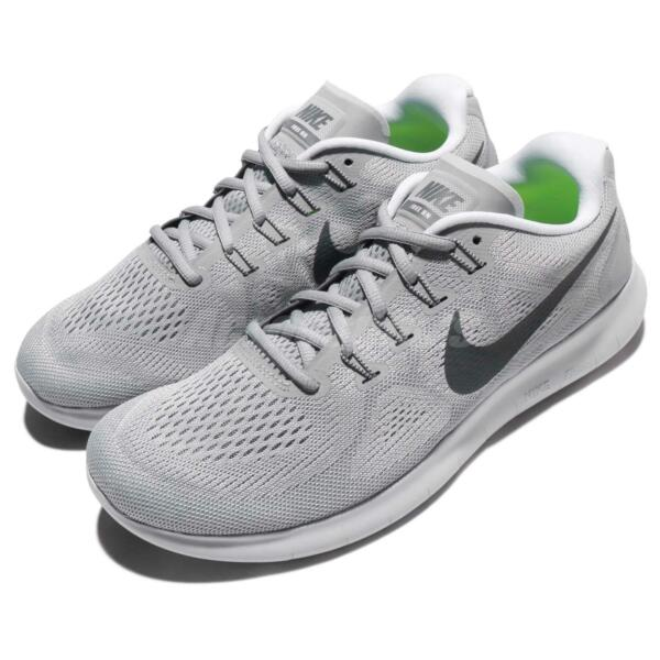 Nike Free RN 2017 Run Mens Running Shoes Sneakers Trainers Wolf Grey 880839-010