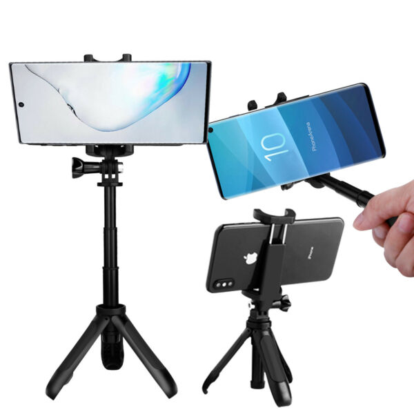 For Samsung Galaxy S10S9 Plus Extendable Selfie Stick Tripod Mount Phone Holder