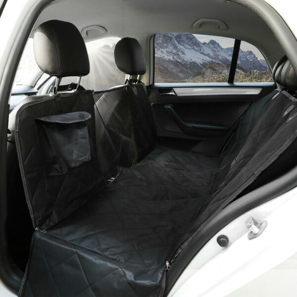 Waterproof Pet Dog Car Seat Zipper Hammock Cover Truck Suv Back Rear Bench Pad $26.96
