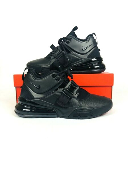 Nike Air Force 270 Triple Black Men Lifestyle Casual Shoes Sneakers AH6772-010