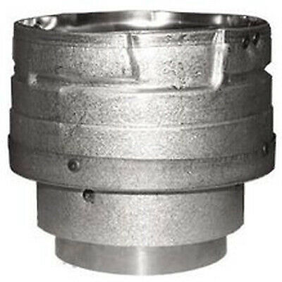 DURAVENT 3PVL X4ADR Pellet Stove Vent Pipe Adapter 3 to 4 In. Quantity 1 $75.46