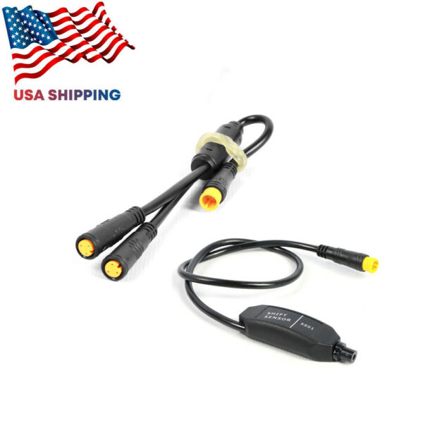 Bafang 8Fun Gear Sensor For Electric Bicycle Shift Y-SPLITTER 1T2 Cable Sensors