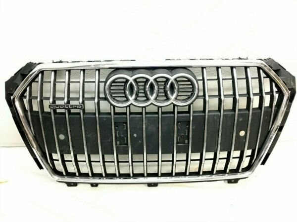 2017 2018 AUDI A4 ALLROAD ALL ROAD FRONT OEM BUMPER GRILLE GRILL 17 18