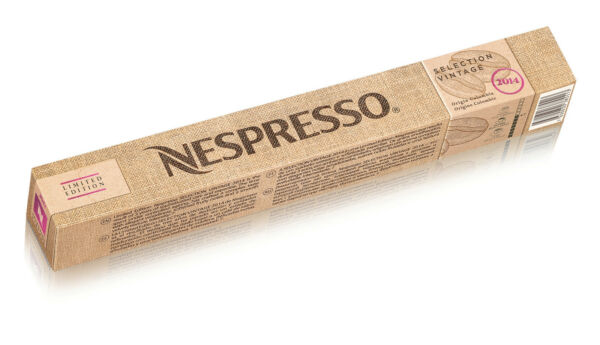 LIMITED EDITION : 200 x Selection Vintage 2014 Nespresso Coffee Capsules