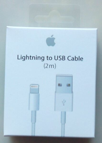 Genuine OEM Apple iPhone X 8 7 6S plus 5 Lightning USB Cable Charger 2M6F